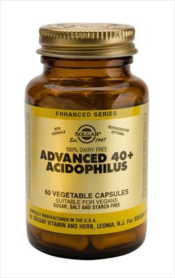 Solgar Advanced 40+ Acidophilus 120 veg cap