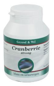 G&W CRANBERRY STRONG