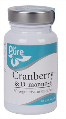 IT'S PURE CRANBERRY+D MANNOSE 60VC