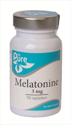It's Pure Melatonine 3 mg