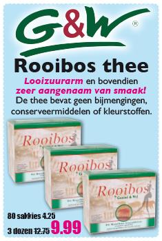 banner rooibos thee
