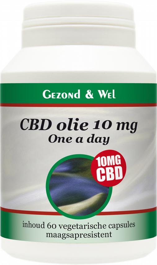 CBD olie 10 mg-one a day-60vcaps_GZW