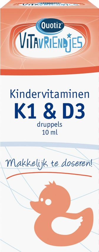 Kindervitaminen K1 en D3 druppels 10ml_DOOSJE_25ml
