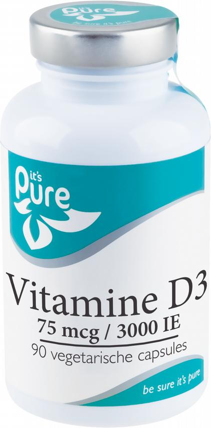 Vitamine D3 75 mcg-3000 IE_90caps_IP